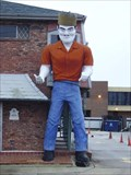 Image for Clark the King - Muffler man