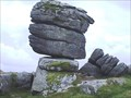 Image for Heckwood Tor Balancing Rock, Dartmoor, Devon UK
