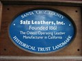 Image for Blue Plaque: Salz Tannery