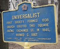 Image for Universalist - Binghamton, NY