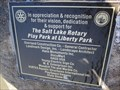 Image for Liberty Park Playground SLC Rotary Project - Salt Lake City Utah