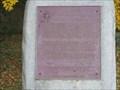 Image for Plaque de la bataille d'Odelltown - Battle of Odelltown Plaque - Lacolle, Québec