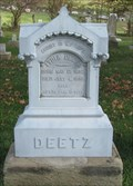 Image for Deetz - Salem Cemetery - Holmes County, Ohio