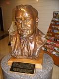 Image for Bust of Col. Sanders, N. Corbin, KY