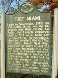 Image for Fort Miami Historical Marker - St. Joseph, MI