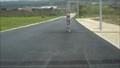 Image for Poste de electricidade em estrada-Portugal