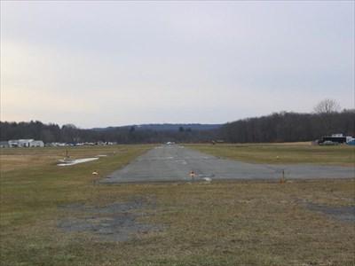 the airstrip