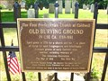 Image for Old Burying Ground - Caldwell, NJ
