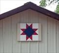 Image for Ohio Star Barn Quilt - Adin, CA