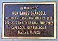 Image for Ron James Crandell - Trail, British Columbia