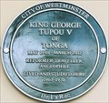 Image for King George Topou V - Cleveland Square, London, UK