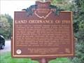 Image for Land Ordinance of 1785 : The Seven Ranges Marker