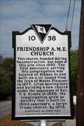 Image for Friendship A.M.E. Church 10-38 - Mount Pleasant, SC