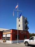 Image for North Saanich Main Fire Hall Flag Pole - North Saanich, BC