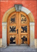 Image for Doors in Josef Vachal street / Dvere v ulici Josefa Vachala (Litomyšl, East Bohemia)