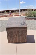 Image for New Mexico national Society of Professional Engineers Historic marker -- nr Teec Nos Pos AZ