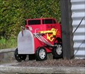 Image for Big Red Truck Mailbox. Inglewood. New Zealand.