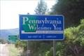 Image for Pennsylvania Border Sign