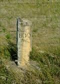Image for BOD marker on 170 Ave in Ellis county