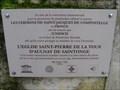 Image for Chemin de Saint Jacques de  Compostelle. Aulnay. Fr