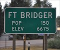 Image for Fort Bridger Wyoming - Eastern Approach