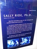 Image for Sally Ride, Challenger Team STS-7 - Sacramento CA