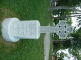 Image for Celtic Cross in McBurney (Skeleton) Park - Kingston, Ontario