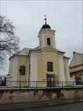 Image for Farni kostel Povyseni sv. Krize Rajhrad/The parish church of the Holy Cross in Rajhrad, Czech Republic