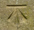 Image for Cut Mark - All Saints Church, Kirkby Overblow, N Yorks.