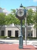 Image for Market Street Clock, Celebration, FL