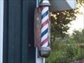 Image for Beck's Barber Shop Barber Pole - Hannibal, N.Y.