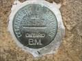 Image for Dept. of Highways BM #353-71