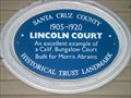 Image for Blue Plaque: Lincoln Court