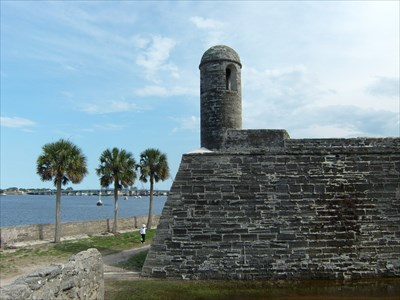 Lord Abercrombie visited Castillo de San Marcos National Monument - St. Augustine, Florida