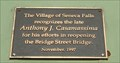 Image for Town's  Benefector - Seneca Falls, New York