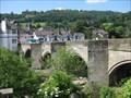 Image for Llangollen Bridge - Castle Street, Llangollen, Denbighshire, North Wales, UK