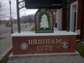 Image for Rotary Marker at the Brigham City Chamber of Commerce - Brigham City, Utah