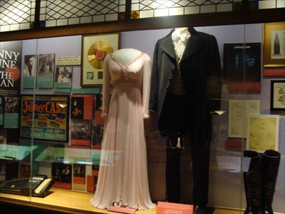 Clothing worn by June Carter and Johnny Cash