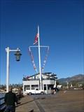 Image for Stearns Wharf Nautical Flag, Santa Barbara, CA