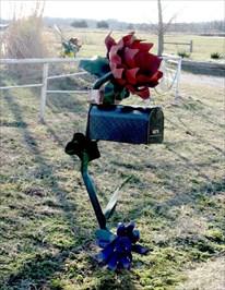 FLOWER MAILBOX CASSVILLE