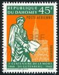 Image for Gutenberg statue - Strasbourg, France, Alsace