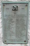 Image for World War Memorial Plaque, Lexington, KY