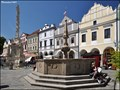 Image for Kašna na Masarykove námestí / Fountain on Masaryk Square (Trebon - South Bohemia)