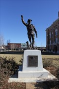 Image for Randall County Courthouse Doughboy -- Canyon TX