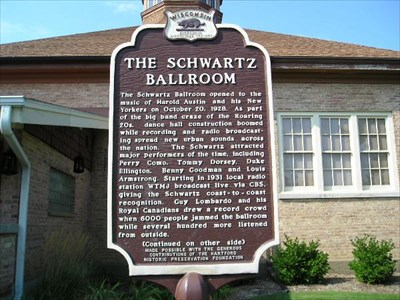 Schwartz Ballroom Marker (Side 1) in Hartford.