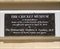 Image for The Cricket Museum - Bridgetown, Barbados