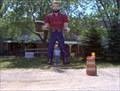 Image for ARCHIVED US12/Michigan Avenue - Paul Bunyan Muffler Man - Stagecoach Stop USA - Onsted, MI