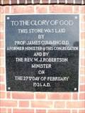 Image for 1926 — St Stephen's Presbyterian Church — Invercargill, New Zealand
