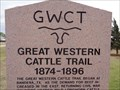 Image for Great Western Cattle Trail - Canute, Oklahoma, USA.