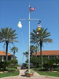 Image for Ponte Vedra Inn and Club Nautical Flagpole - Ponte Vedra Beach, FL